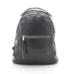 Женский кожаный рюкзак 66009 brown