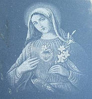 "Гравірування ""Матір Божа"""