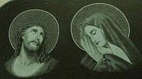 """Гравірування """"Матір Божа та Ісус Христос"""""""