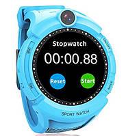 Умные часы Wonlex Smart Baby Watch GW600 (Q360) Blue  GPS-часы с камерой
