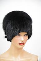 """Женская меховая шапка из ондатры """"Нашивка-Стрекоза"""", фото 1"""