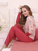 """Яркая женская пижама со штанами из коллекции """"Chiks"""""""