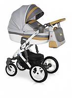 Детская коляска 3 в 1 Verdi Viper 05 серый/оливка