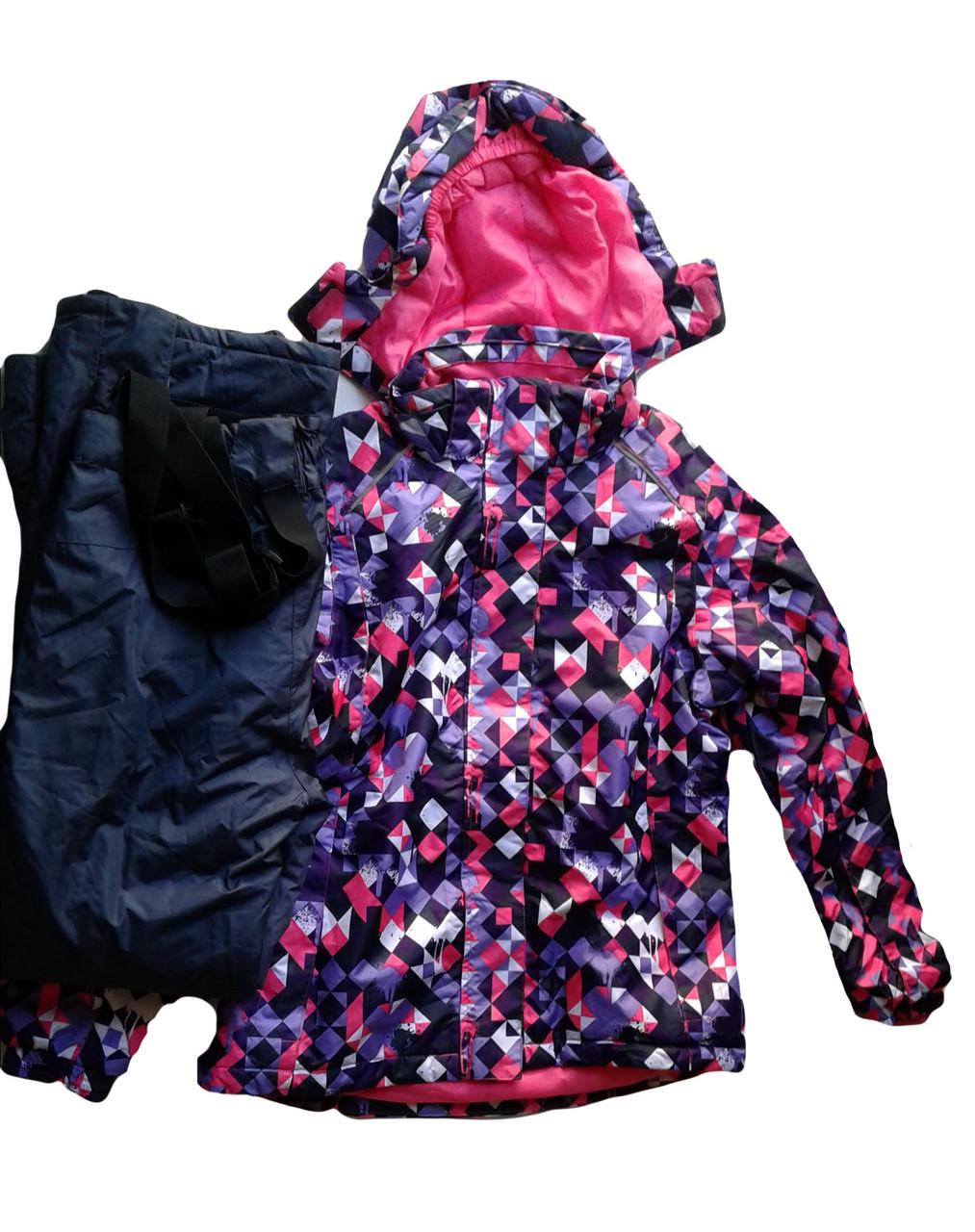 Комбинезон с курткой для девочки, CRIVIT, размер 158/164, арт. Л-436