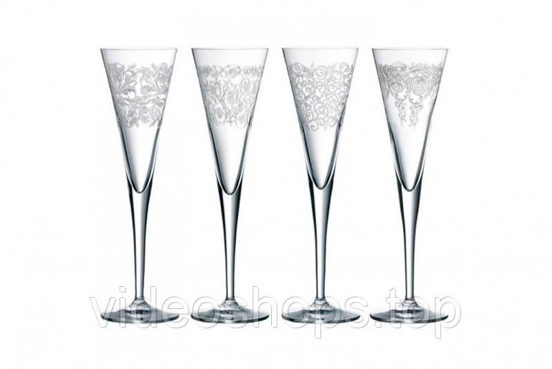 Набор бокалов для шампанского 150мл (4шт.) Delight