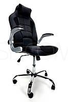 Крісло офісне Calviano sport, чорний колір