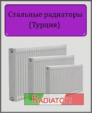 Турецькі сталеві радіатори Radiatori