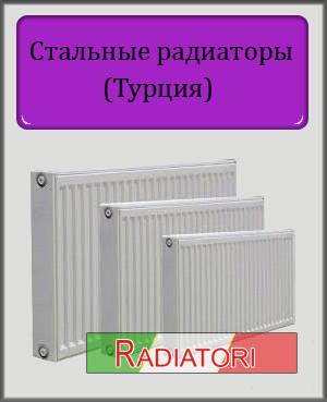 Турецкие стальные радиаторы Radiatori