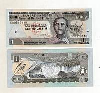 Эфиопия 1 бирр 2006 отлич. состояние