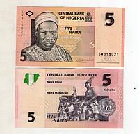 Нигерия 5 найре 2006 отличное состояние