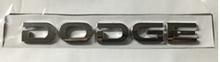 Надпись DODGE  148х16 мм