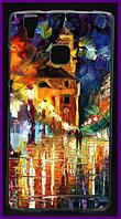 Чехол, бампер с принтом картины для смартфона HomTom ht16/ht16 pro