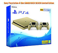 Sony Playstation 4 Slim 500GB Gold Limited Edition + PAD