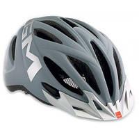 Шлем MET 20 miles M matt gray/silver (reflective stickers)