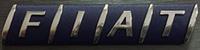 Надпись Fiat
