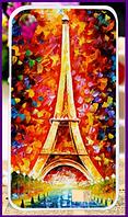 Чехол, бампер с принтом парижа для смартфона HomTom ht16/ht16 pro