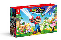 Nintendo SWITCH Red & Blue + Mario+ Rabbids Kingdom Battle