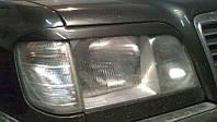 Реснички на фары Мерседес 124 (рестайлинг) /комплект