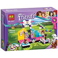 """Конструктор Bela Friends 10607 """"Выставка щенков""""  (аналог LEGO Friends 41300), 202 детали"""