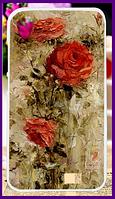 Чехол, бампер с принтом роз для смартфона HomTom ht16/ht16 pro