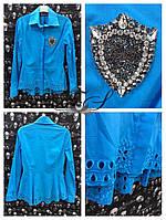 Блузка-Рубашка женская (S, M, L) Бренд Philipp Plein Котон