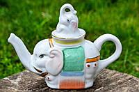 Восхитительный коллекционный чайник,чайничек! Слон!