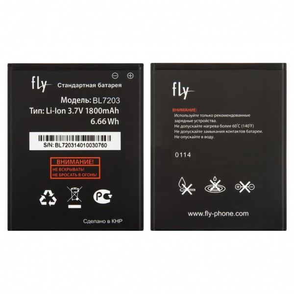 Аккумулятор (Батарея) Fly iQ4405 EVO Chic 1 BL7203 (1800 mAh) Оригинал