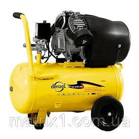 Компрессор пневматический, 2,2 кВт, 350 л/мин, 50 л// DENZEL