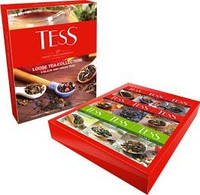 Набор чая Tess / Тесс 9 видов листового чая, 350 г