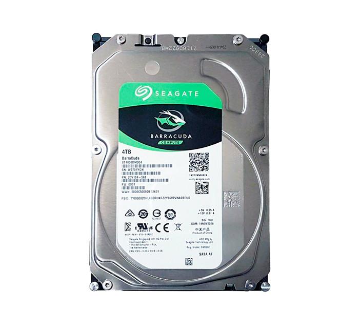 Жесткий диск для компьютера 4 Тб Seagate BarraCuda, SATA 3, 256Mb, 540