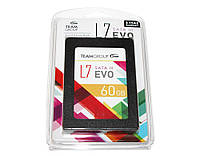 SSD 60Gb, Team L7 Evo, SATA3, 2.5', TLC, 530/370 MB/s (T253L7060GTC101)