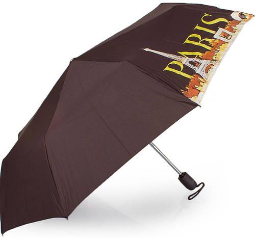 Чудесный женский зонт автомат AIRTON Z3912-5, цвет коричневый