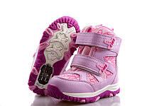 Терма-ботинки для девочек оптом 17121-3 (8пар 27-32