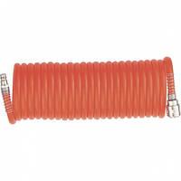 Шланг спиральный воздушный, 10 м, с быстросъемными соединениями// MTX