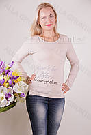 Блуза-туника трикотажная 401-осн706-162 норма оптом от производителя Украина