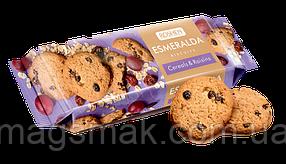 Сдобное печенье Эсмеральда с овсяными хлопьями и изюмом, 150 г