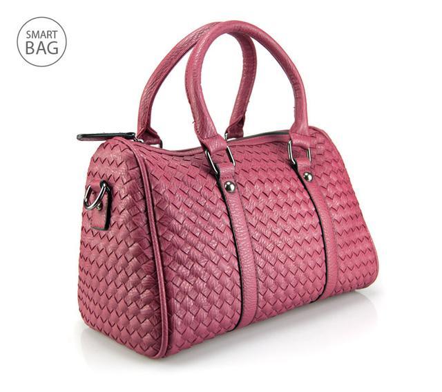 Женская красная сумка Boston