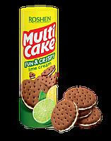 Крекер Multicake fun & crispy с лаймовой начинкой, 135 г