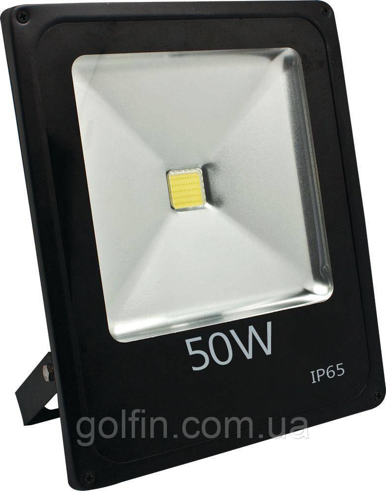 Светодиодный прожектор (LED) 50 W - матричный SLIM STANDART