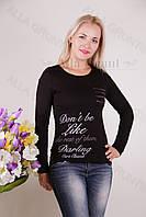 Блуза-туника трикотажная 400-осн706-162 норма оптом от производителя Украина