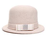 Шляпа цвет бежевый