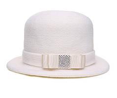 Шляпа цвет белый