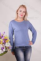 Блуза-туника трикотажная 439-осн704 норма оптом от производителя Украина
