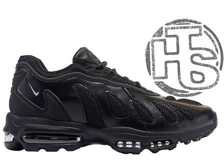 Мужские кроссовки реплика Nike Air Max 96 XX All Black 870165-007, фото 2