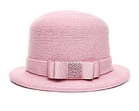 Шляпа цвет пудра