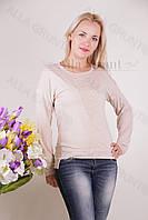 Блуза-туника трикотажная 401-осн704 норма оптом от производителя Украина