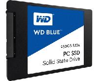 SSD 250GB SATA3 2.5 WD Blue WDS250G1B0A