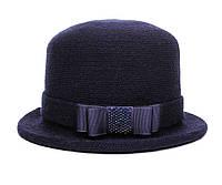 Шляпа цвет синий