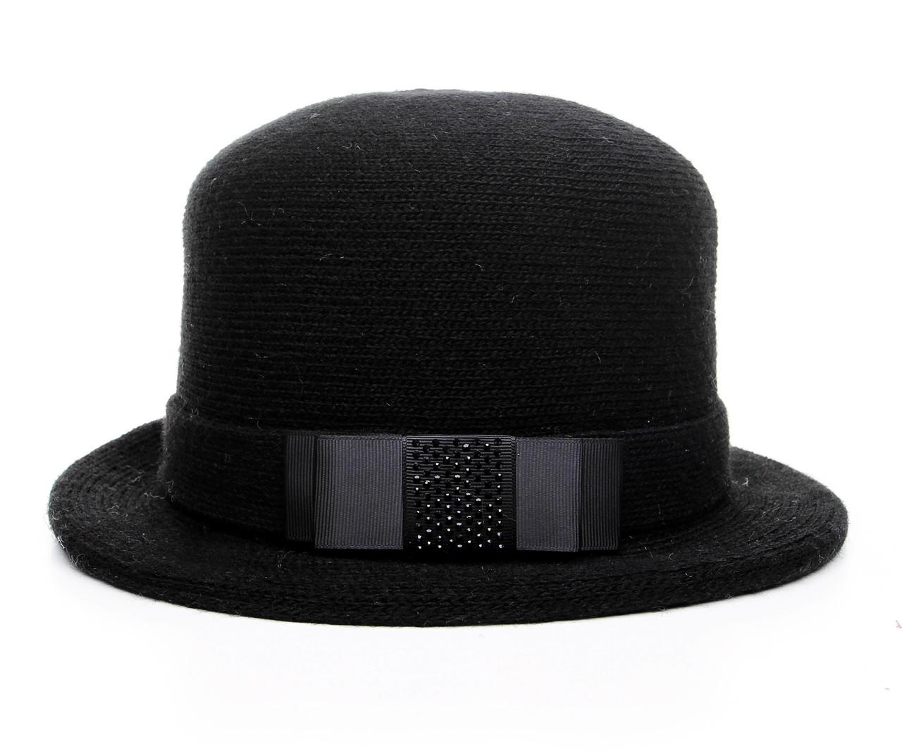 Шляпа цвет черный