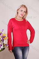 Блуза-туника трикотажная 424-осн704 норма оптом от производителя Украина